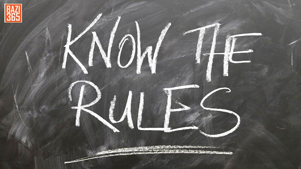 قوانین کازینو آنلاین